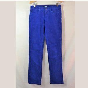 J.Crew Matchstick Skinny Corduroy Pants Size 26